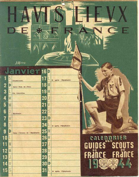 Fichier:Calendrier SDF 1944.jpg