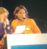 Sophie Mancel, lors de l'assemblée générale des SGDF en 2012