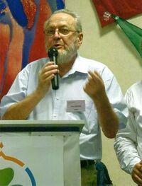 Yvon Bastide lors de l'Assemblée Générale des EEDF en 2011 à Troyes