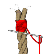 Three strands sailmaker's whipping 3.PNG