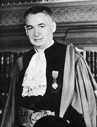Léon Meiss en tenue de magistrat