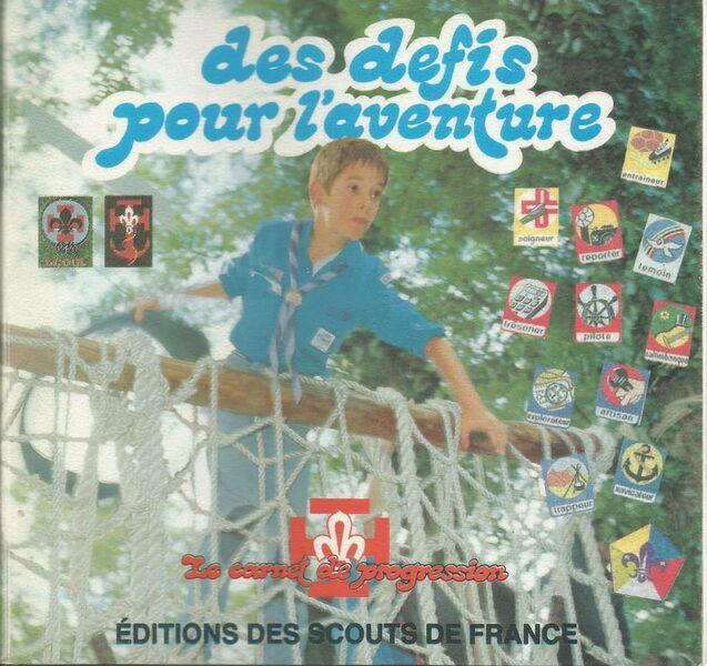 Fichier:Des défis pour l'aventure 1985.jpg