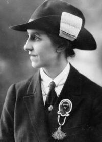 Gladys Bretherton en 1924