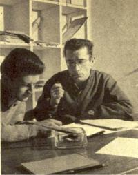 Jacques Bassot (à gauche) dans le magazine Scout d'octobre 1960