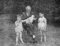 Marcel Leboucher en famille