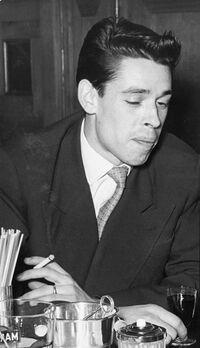 Jacques Brel en 1955