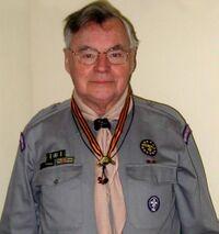 Kroonenberg avec le loup de bronze
