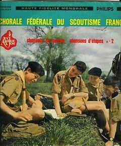 Couverture d'un des albums de la chorale