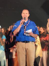 Charles le Gac au jamboree Quels talents! en 2006