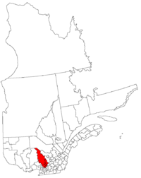 La région de Lanaudière dans la province de Québec