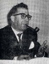 L'architecte Guy Houist en 1973