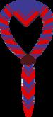 Foulard bleu-fonce-bordure-rouge-lisere-rouge.PNG