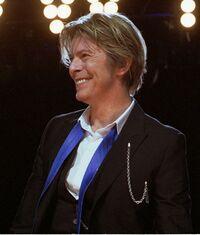 David Bowie en 2002 à Chicago