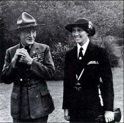 Lady et Lord Baden-Powell