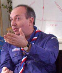 Claude Moraël, pendant un Cham en février 2007