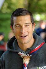 Bear Grylls en octobre 2012