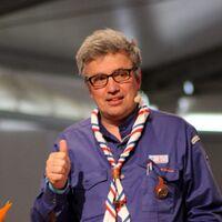 Gilles Vermot-Desroches lors de l'assemblée générale des SGDF en 2017
