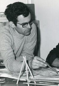 Claude Baehrel, pendant son mandat de Commissaire de la branche Pionniers