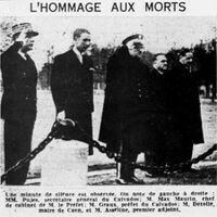 Max Maurin, comme chef de cabinet du préfet du Calvados